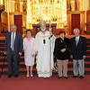 Couples who have been married for 60 years following a Wedding Anniversary Mass at the Cathedral of the Holy Cross in Boston, Sunday, June 26, 2011. (Photo/Lisa Poole)