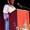 Cristo Rey Boston High School Class of 2014 valedictorian, Christline Williams.<br /> Pilot photo/ Courtesy Cristo Rey Boston
