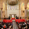 Catholic Memorial's commencement at Holy Name Church May 22, 2014.<br /> Pilot photo/ Patrick E. O'Connor