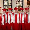 National Honor Society members at Catholic Memorial's graduation.<br /> Pilot photo/ Patrick E. O'Connor