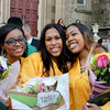 Cathedral High grads celebrate on Saturday, May 31 outside the Cathedral. <br /> Pilot photo/ Patrick E. O'Connor