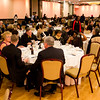 Dr. Martin Williams Carolyn Caveny are honored at the 2016 Bishop Healy Awards Dinner, Nov. 19, 2016.<br /> Pilot photo/ Mark Labbe