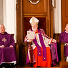 Cardinal Seán P. O'Malley presents the annual Cheverus Award Medals to 113 recipients Dec. 4, 2016 at the Cathedral of the Holy Cross.<br /> Pilot photo/ Gregory L. Tracy