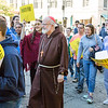 Hundreds of pro-life supporters stopped traffic around the Boston Common as they marched, sang, and prayed during the Massachusetts March for Life on Oct. 1.<br /> Pilot photo/ Kelsey Cronin