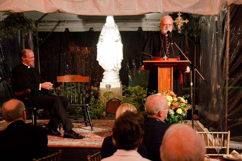Pope St. John XXIII National Seminary Lawn Party, Sept. 27, 2017.<br /> Pilot photo/ Mark Labbe
