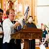 World Mission Sunday Mass, St. Columbkille's Brighton, Oct. 22, 2017.<br /> Pilot photo/ Mark Labbe
