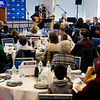 "ADL New England's 11th annual ""A Nation of Immigrants"" Community Seder, March 4, 2018 and UMass Boston.<br /> Pilot photo/ Mark Labbe"