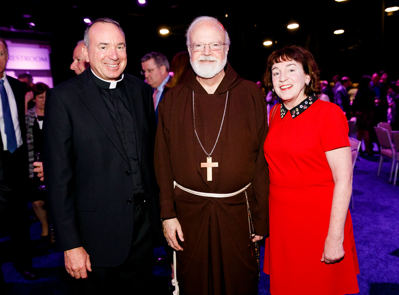 The Archdiocese of Boston's 10th annual Celebration of the Priesthood Dinner featuring keynote speaker Mark Wahlberg, Sept. 18, 2018 at the Seaport World Trade Center in Boston. (Pilot photo/ Gregory L. Tracy)