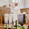 Cardinal Seán P. O'Malley celebrates the annual Chrism Mass at Immaculate Conception Church in Malden, March 27, 2018.<br /> Pilot photo/ Gregory L. Tracy