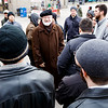 Cardinal O'Malley gives his blessing to seminarians from St. John Seminary as they prepare to distribute food and Miraculous Medals to the homeless and needy on BostonCommon as part of the Fratello initiative, marking World Day of the Poor, Nov. 18, 2018.<br /> Pilot photo/ Gregory L. Tracy