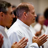 Ordination of Permanent Deacons Osvaldo Fernandez, Robert Horne, David Giangiordano, Charles Kelley, Francis Sung, Julio Sanchez, Jim Thompson and Cristino Ynfante at Holy Name Church in West Roxbury, Sept. 29, 2018.<br /> Pilot photo/ Gregory L. Tracy