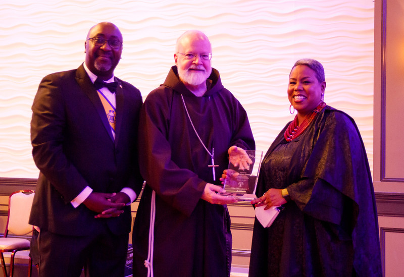 The Archdiocese of Boston's Black Catholic Ministries' Bishop James Augustine Healy Award Dinner, Nov. 23, 2019.<br /> Pilot photo/ Jacqueline Tetrault