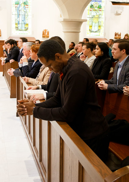 The 2019 Red Mass and brunch for members of the legal professions organized by the Catholic Lawyers Guild of the Archdiocese of Boston, held at Our Lady of Good Voyage Chapel in South Boston, Nov. 17, 2019. Pilot photo/ Jacqueline Tetrault