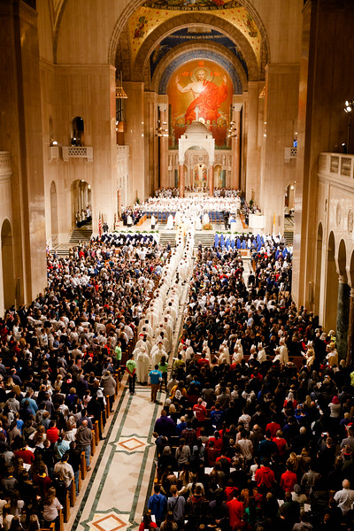 Cardinal O'Malley concelebrates the Opening Mass of the annual Prayer Vigil for Life Jan. 17, 2018 at the Basilica of the National Shrine of the Immaculate Conception in Washington, D.C.<br /> Pilot photo/ Gregory L. Tracy