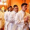 Cardinal Sean P. O'Malley ordains Fathers Fernando Ayala, David Campo, Francis Godkin FPO, Robert LeBlanc, Leonardo Moreira and Kevin Pleitez for the Archdiocese of Boston and Fathers Father Alwin Chinnappan and Valanarasu Newton-Williamraj for the Diocese of Kumbakonam, India, May 22, 2021 at the Cathedral of the Holy Cross.<br /> Pilot photo/ Gregory L. Tracy