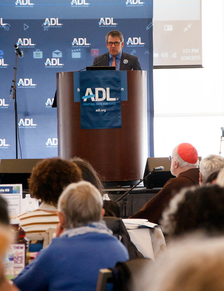 """Anti-Defamation League's 12th annual """"Nation of Immigrants"""" Community Seder Seder, held on March 24, 2019 at the UMass Boston Campus Center.<br /> Pilot photo/ Jacqueline Tetrault"""
