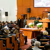 Interfaith prayer service MorningStar Baptist Church in Boston for Governor Charlie Baker and Lieutenant Governor Karen Polito on the eve of their inauguration for a second term, Jan. 2, 2019.<br /> Pilot photo/ Jacqueline Tetrault