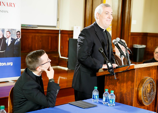 Bishops-elect O'Connell and Reed