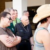 Sept. 19, 2015 -- Boston Pilgrims makes their way to the Museo Nacional de Bellas Artes (National Museum of Fine Arts) in Havana and experience some of Havana life.<br /> Pilot photo/ Gregory L. Tracy