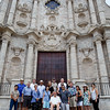 Between events, a number pilgrims an opportunity for a brief but colorful tour of historic Old Havana.  However, throughout the city they also saw many other areas beyond the tourist district suffering from years of neglect.<br /> Pilot photo/ Gregory L.  Tracy