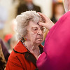 Cardinal Seán P. O'Malley celebrates Ash Wednesday Mass March 5, 2014 at the Pastoral Center in Braintree. Pilot photo/ Gregory L. Tracy