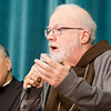 Galveston – Houston Cardinal Daniel DiNardo and Boston Cardinal Sean O'Malley answer questions for the media at the Pontifical North American College March 5, 2013.<br /> <br /> Pilot photo by Gregory L. Tracy