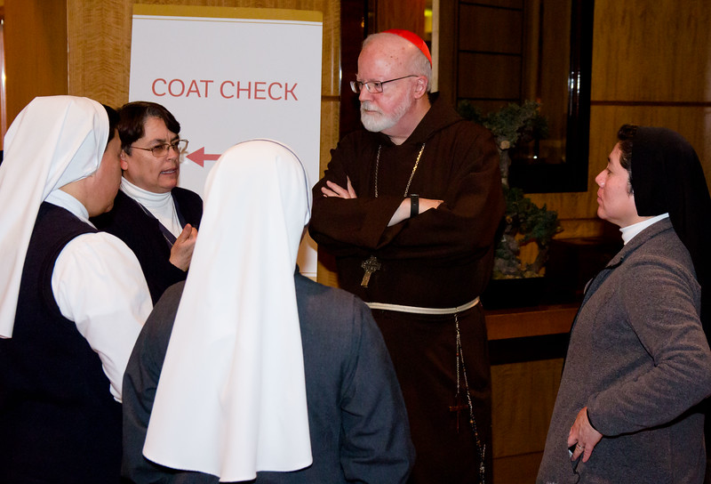 Catholic Extension's inaugural Boston Spirit of St. Francis award dinner honoring Father William P. Leahy, S.J. President of Boston College held Tuesday, March 20, 2018 at the Mandarin Oriental, Boston.<br /> Pilot photo/ Mark Labbe