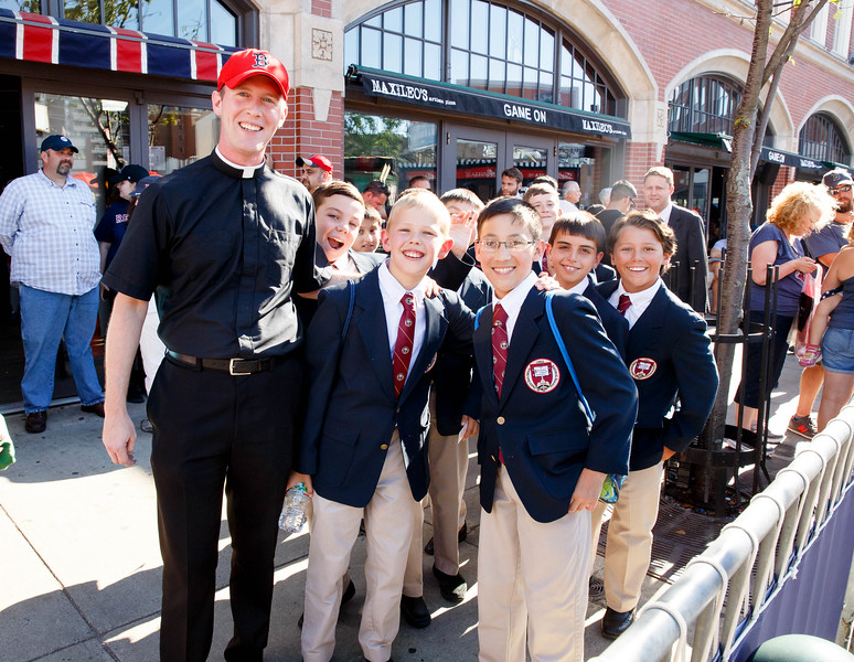 Catholic Night at Fenway Park, July 19, 2016.<br /> Pilot photo by Gregory L. Tracy