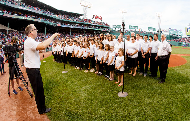 Catholic Night at Fenway Park, June 24, 2019. <br /> Pilot photo/ Gregory L. Tracy