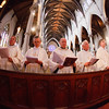 Cardinal Sean P. O'Malley celebrates the Chrism Mass March 26, 2013 at the Cathedral of the Holy Cross. The Mass at which sacred oils are blessed is also an occasion to celebrate priestly fraternity.<br /> Pilot photo/ Gregory L. Tracy