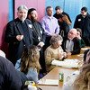Boston area faith leaders gather for an ecumenical celebration Jan. 21, 2017 at Holy Name Church in West Roxbury to mark the Week of Prayer for Christian Unity. The day began with lunchtime workshops, followed by an interfaith prayer service.<br /> Pilot photo/ Mark Labbe