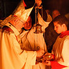 Cardinal O'Malley celebrates the Easter Vigil at the Cathedral of the Holy Cross March 30, 2013.<br /> Pilot photos by Christopher S. Pineo