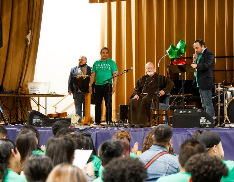 Archdiocesan Encuentro Juvenil for Hispanis Youth, Dec. 15, 2018.<br /> Pilot photo/ Jacqueline Tetrault
