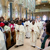 Members of the Haitian community in Boston pack Mission Church for a Mass celebrated by Cardinal Chibly Langlois, the first cardinal from their homeland marking the Feast of Our Lady of Perpetual Help June 22, 2014. <br /> Pilot photo/ Christopher S. Pineo