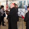 Father Daniel Kennedy memorial bridge dedication in Needham, Mass., June 15, 2015.<br /> Pilot photo/ Christopher S. Pineo