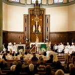 Funeral of Bp. Walter Edyvean