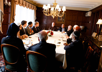 Gathering with Boston-area Muslim Leaders