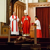 Cardinal O'Malley celebrates the 7:30pm Liturgy of Good Friday at the Cathedral of the Holy Cross March 29, 2013, followed by a procession re-enacting the Way of the Cross.<br /> Pilot photo/ Christopher S. Pineo