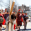 Living Stations of the Cross and the Good Friday Liturgy celebrated by Cardinal O'Malley at the Cathedral of the Holy Cross, April 14, 2017.<br /> Pilot photo/ Mark Labbe