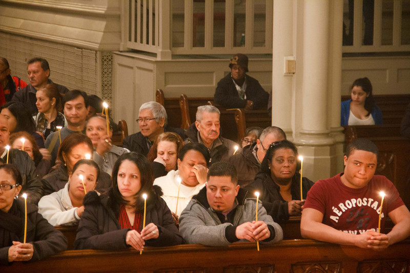 """Cardinal O'Malley celebrates the Mass of the Lord's Supper, Holy Thursday, March 28, 2013. After the Mass, the Blessed Sacrament is placed """"in repose"""" in a side chapel until Holy Saturday."""