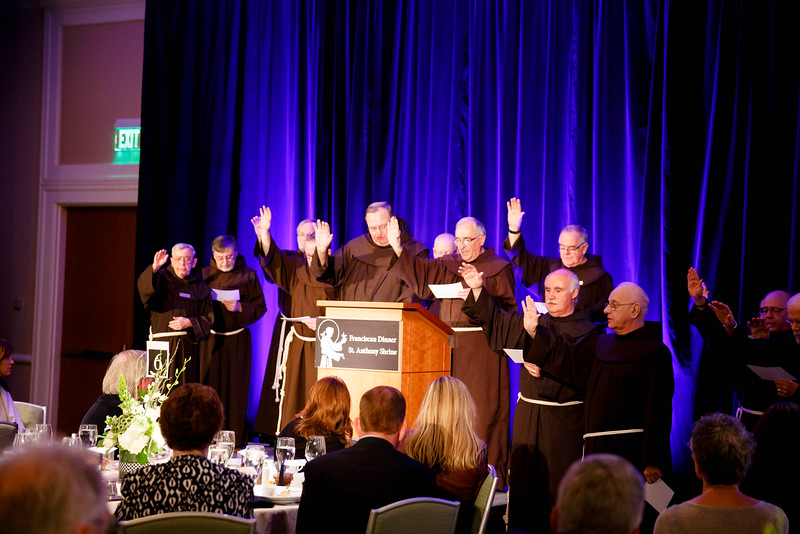 Inaugural Franciscan Gala to benefit St. Anthony Shrine in Boston held at the Seaport Hotel in South Boston, Oct. 20, 2016.<br /> Pilot photo/ Gregory L. Tracy