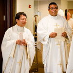 Incardination of Frs. Chen and Marques