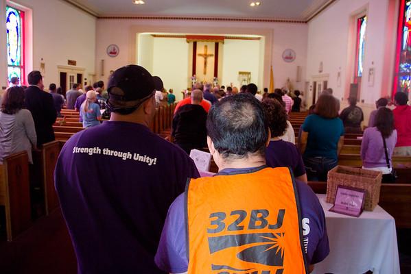 Labor Mass at Seaport Chapel