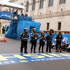 Boston Police stand at the finish line of the 2014 Boston Marathon April 15. (Pilot photo/ Gregory L. Tracy)