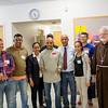 The 2014 Boston Marathon Men's winner Meb Keflezighi visits Catholic Charities' Laboure Center in South Boston May 15, 2014. (Pilot photo/ Christopher S. Pineo)