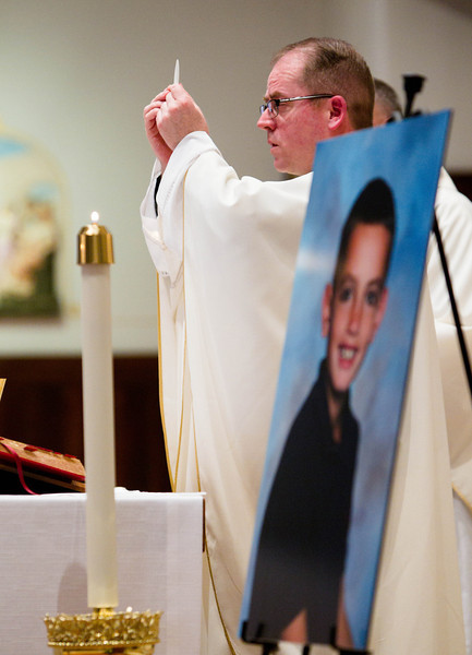 BIRTHDAY MEMORIAL MASS FOR MARATHON BOMBING VICTIM MARTIN RICHARD