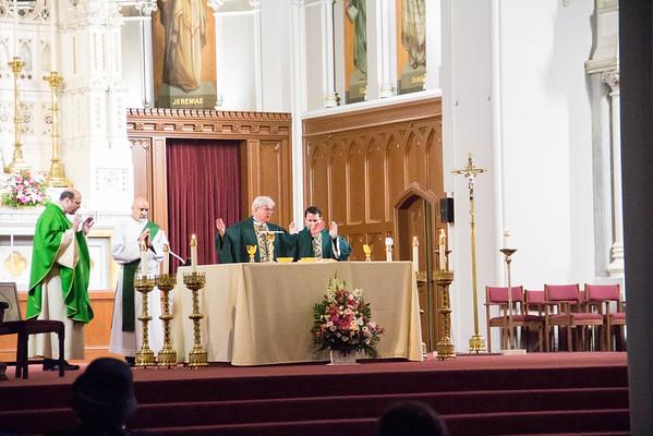 Mass for Paris Victims