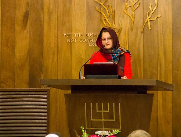 Merrimack College Interfaith Gathering