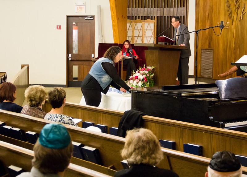 Merrimack College interfaith sevrice, Nov. 3, 2015.<br /> Pilot photo/ Mark Labbe