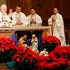 Cardinal O'Malley celebrates a New Year's Eve Mass at St. Clement Eucharistic Shrine in Boston's Back Bay, Dec. 31, 2016.<br /> Pilot photo/ Mark Labbe